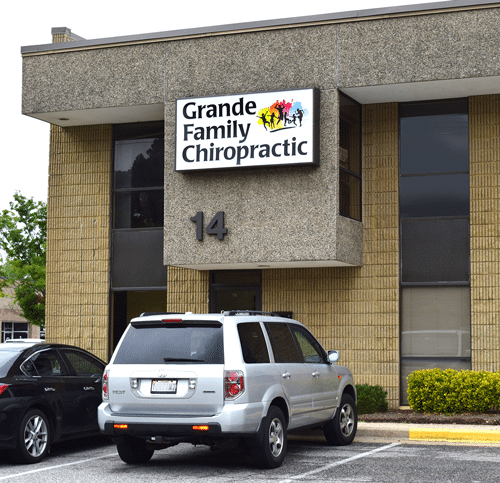 Chiropractic Crofton MD office building